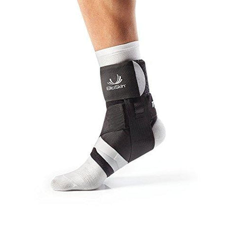 BioSkin Trilok Ankle Brace - Foot and Ankle Support for Ankle Sprains, Plantar Fasciitis, PTTD, Tendonitis and Active Ankle Stability - Lightweight, Hypo-Allergenic (XLarge) [product _type] BIOSKIN - Ultra Pickleball - The Pickleball Paddle MegaStore