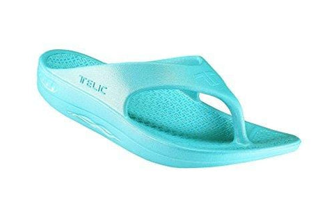 Telic / Terox Flip Flop Sandal Shoes Color Aqua Lagoon Various Sizes (XXX-Large)
