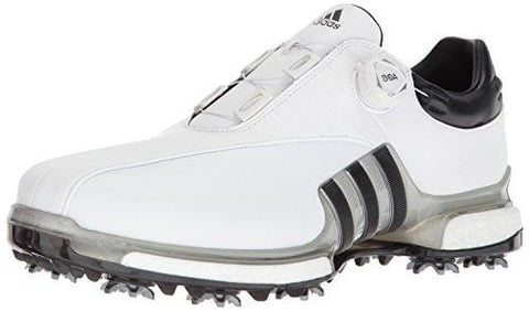 adidas Men's TOUR360 EQT Boa Golf Shoe, FTWR White/Silver met./core Black, 10.5 Medium US [product _type] adidas - Ultra Pickleball - The Pickleball Paddle MegaStore