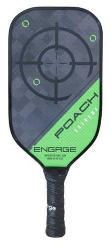 Engage Poach Extreme Pickleball Paddle (Green 7.9-8.3 oz)