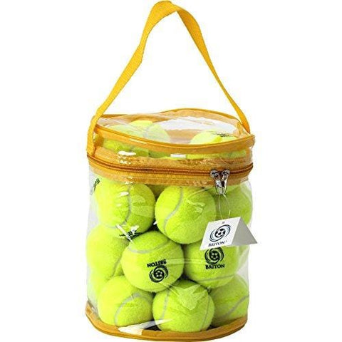 Briton Pressure Less Tennis Balls with Carrying Bag (Pack of 24) … [product _type] Briton - Ultra Pickleball - The Pickleball Paddle MegaStore
