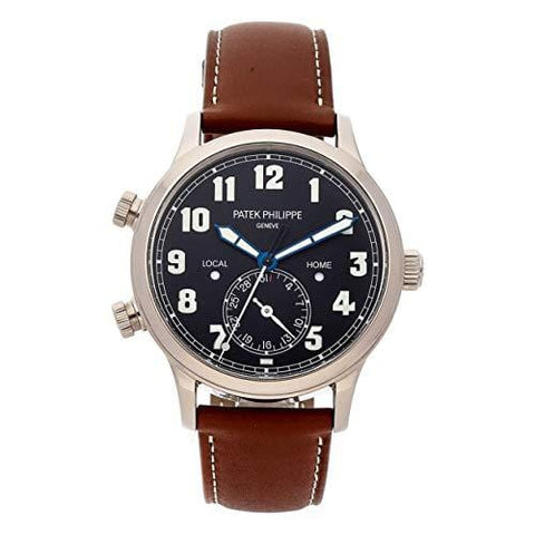Patek Philippe Calatrava Mechanical (Automatic) Black Dial Mens Watch 5524G-001 (Certified Pre-Owned)