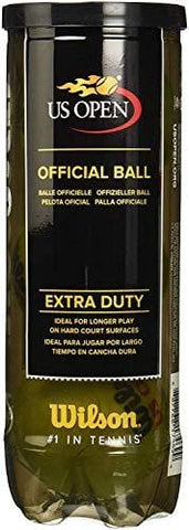 Wilson US Open Extra Duty Tennis Ball (4-Pack), Yellow (8 Pack)