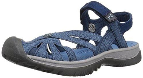 Keen Women's Rose Sandal-W Opal/Provincial Blue, 10 M US [product _type] Keen - Ultra Pickleball - The Pickleball Paddle MegaStore