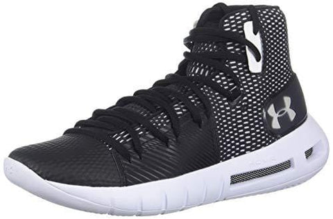 Under Armour Women's Drive 5 Basketball Shoe Black (001)/White 9