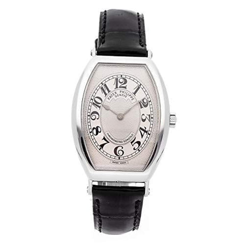 Patek Philippe Gondolo Mechanical (Hand-Winding) Silver Dial Mens Watch 5098P-001 (Certified Pre-Owned)