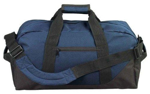 "21"" Large Duffle Bag with Adjustable Strap (Navy Blue)"