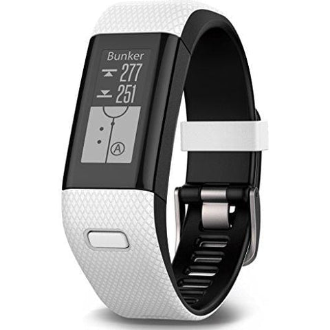Garmin Approach X40, GPS Golf Band and Activity Tracker with Heart Rate Monitoring, White