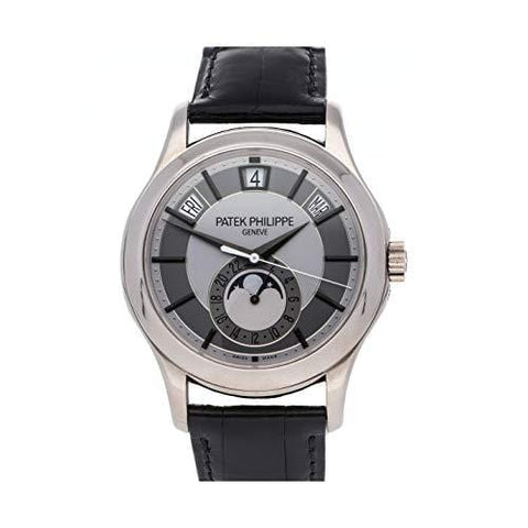 Patek Philippe Complications Mechanical (Automatic) Rhodium Dial Mens Watch 5205G-001 (Certified Pre-Owned)