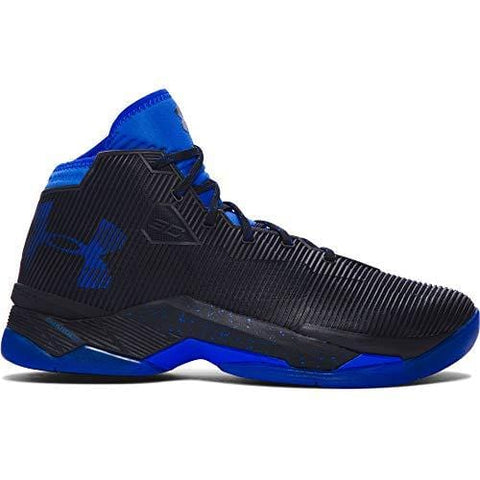 Under Armour Curry 2.5 Men's Basketball Shoes (10 M US, Black/Team Royal/Team Royal)