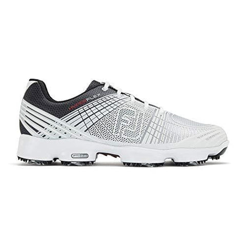 FootJoy Men's Hyperflex II-Previous Season Style Golf Shoes White 9.5 M Black, US [product _type] FootJoy - Ultra Pickleball - The Pickleball Paddle MegaStore