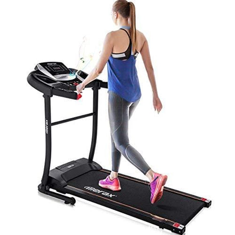 Merax Electric Folding Treadmill Easy Assembly Motorized Running Jogging Machine for Home