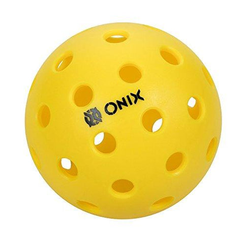Pickleballs - Onix Pure 2 Outdoor (Yellow, 12-Pack)