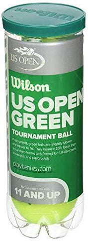 Wilson US Open Tournament Tennis Ball, Green