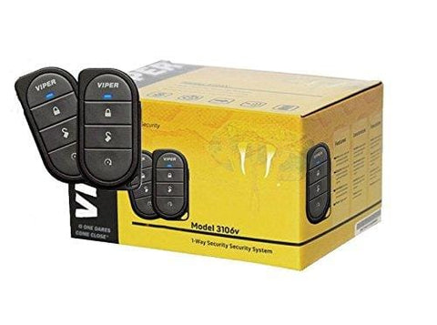 Viper 3106V 3-Channel 1-Way Car Alarm System