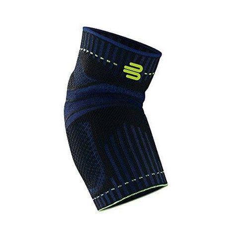 Bauerfeind Sports Elbow Support - Breathable Compression Elbow Brace - Contoured Pads for Inner and Outer Elbow Protection Against Joint Pressure - Air Knit Fabric Washable and Durable (Black, Large) [product _type] Bauerfeind - Ultra Pickleball - The Pickleball Paddle MegaStore
