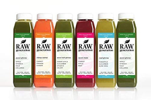 5-Day Skinny Cleanse by Raw Generation® - Best Juice Cleanse to Lose Weight Quickly/Healthiest Way to Cleanse & Detoxify Your Body/Jumpstart a Healthier Diet