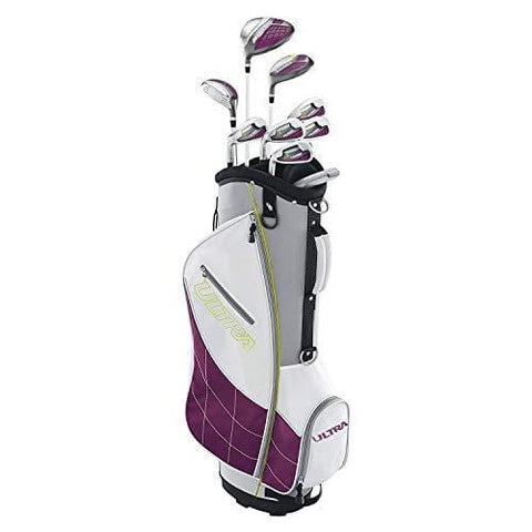 Wilson Ultra Ladies Left-Handed Super Long Golf Club Set with Cart Bag