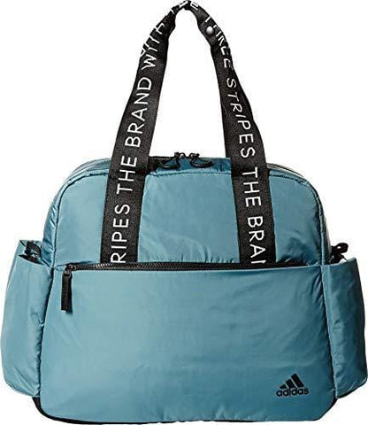 adidas Sport to Street Tote Bag, Raw Green/Black, One Size