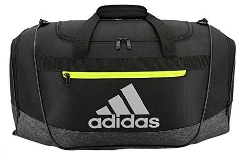 adidas Defender III medium duffel Bag, Grey, One Size