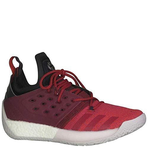 adidas Men's Harden Vol 2 Basketball Shoe Red/White Size 12 M US