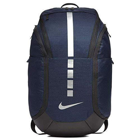 Nike Hoops Elite Pro Backpack MIDNIGHT NAVY/BLACK/MTLC COOL GREY