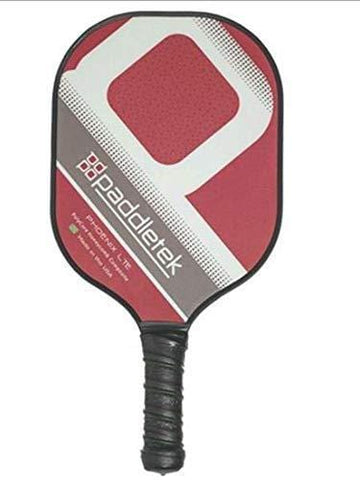 Paddletek Phoenix LTE Pickleball Paddle (Red)