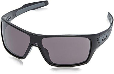 OAKLEY Turbine Rotor Sunglasses, Polished Black W/Warm Grey