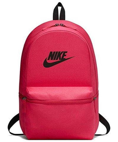 Nike Men Sportswear Heritage Backpack Gym Sport BA5749-666,Rush Pink/Black,One Size