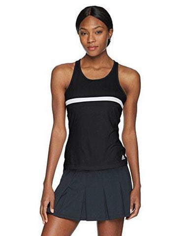 adidas Women's Tennis Club Tank Top, Black, Small [product _type] adidas - Ultra Pickleball - The Pickleball Paddle MegaStore
