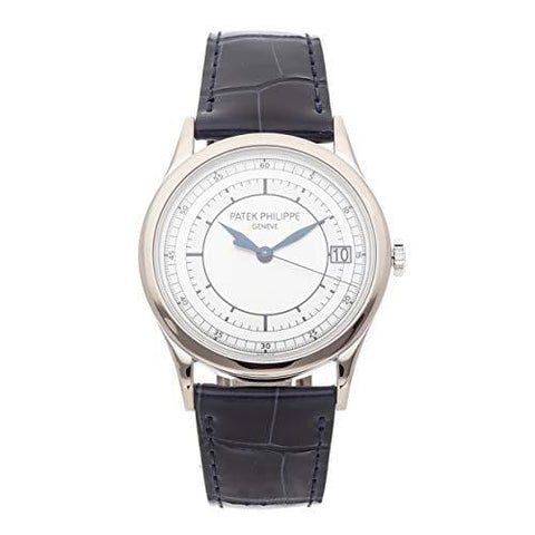 Patek Philippe Calatrava Mechanical (Automatic) Silver Dial Mens Watch 5296G-001 (Certified Pre-Owned)
