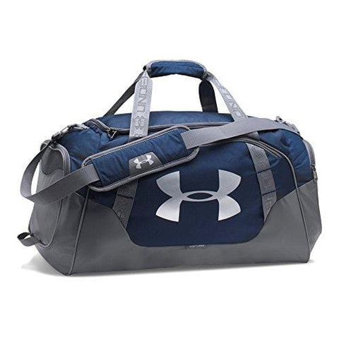 Under Armour Undeniable Duffle 3.0 Gym Bag, Midnight Navy (410)/Silver,