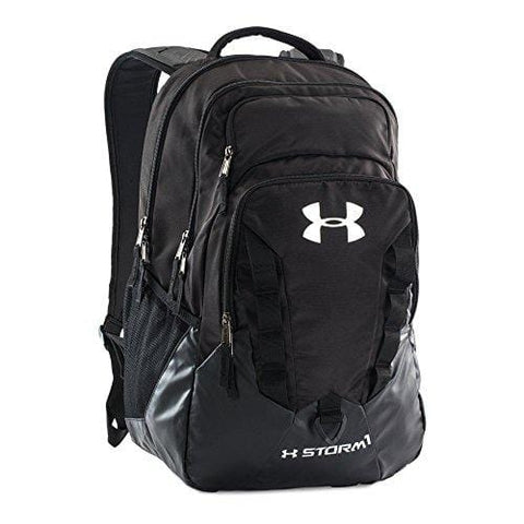 Under Armour Storm Recruit Backpack, Black /Silver, One Size