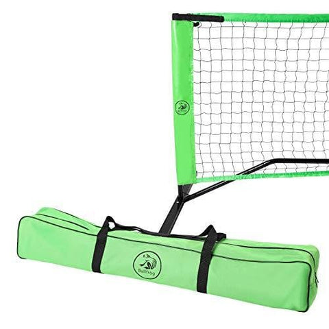 BullFrog Pickleball Set – Portable Pickleball Net with Frame, Padded Feet, Pickleball Bag and Assembly Instructions – Perfect for Indoor or Outdoor Pickle Ball [product _type] BullFrog - Ultra Pickleball - The Pickleball Paddle MegaStore