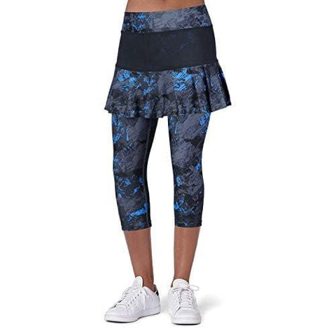 ANIVIVO Women Tennis Legging, Skirted Capri Leggings Tennis Pants for Women& Sports Capri Skirted Leggings Women Tennis Clothings(Darkblue,M) [product _type] ANIVIVO - Ultra Pickleball - The Pickleball Paddle MegaStore