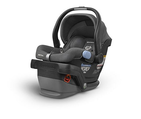 UPPAbaby MESA Infant Car Seat -Jordan (Charcoal Melange)Merino Wool Version/Naturally Fire Retardant