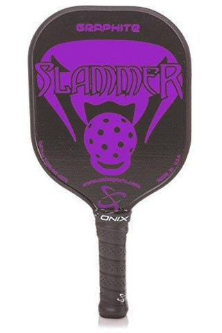Onix Graphite Slammer Pickleball Paddle with Nomex, Paper Honeycomb Core and Graphite Face