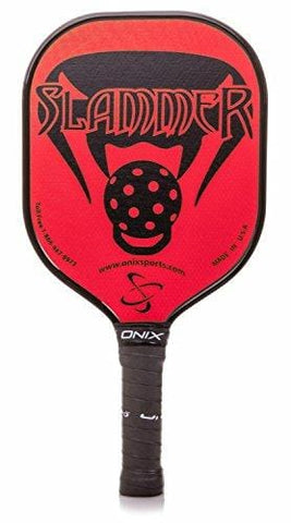 Onix Composite Slammer Pickleball Paddle with Nomex, Paper Honeycomb Core and Fiberglass Face