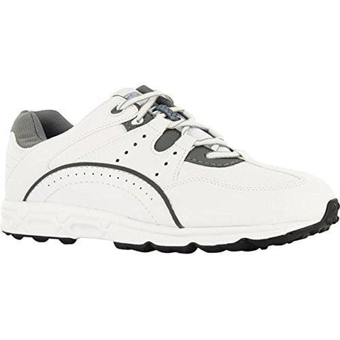 FootJoy Men's Golf Specialty Golf Shoes 56734 - White/Grey - 9.5 - Medium [product _type] FootJoy - Ultra Pickleball - The Pickleball Paddle MegaStore
