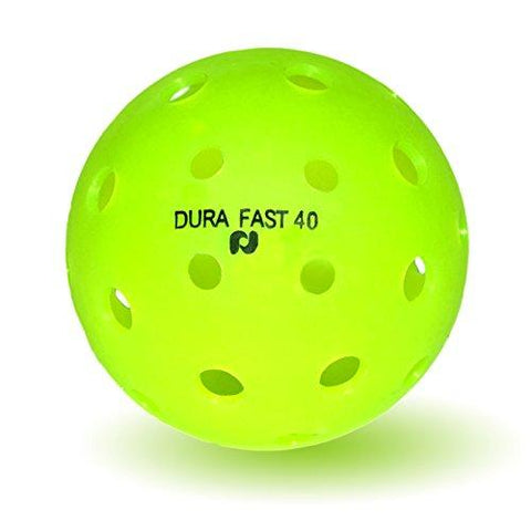 Dura Fast 40 Pickleballs | Outdoor pickleball balls | Neon | Pack of 6 | USAPA Approved and Sanctioned for Tournament Play, Professional Perfomance [product _type] Pickle-Ball - Ultra Pickleball - The Pickleball Paddle MegaStore