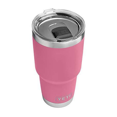 YETI Rambler 30 oz Stainless Steel Vacuum Insulated Tumbler w/MagSlider Lid, Harbor Pink