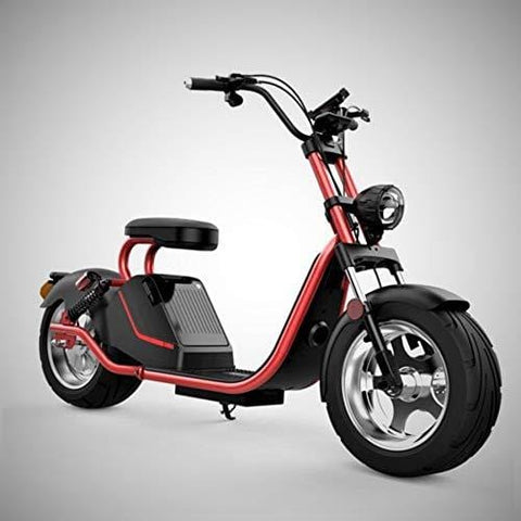 City Coco 3000 Watt Powerful Electric Scooter (Red)