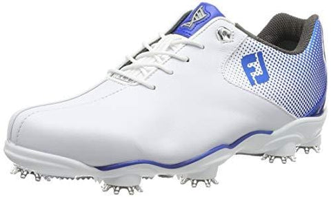 FootJoy Men's D.N.A. Helix-Previous Season Style Golf Shoes White 13 M Electric Blue, US [product _type] FootJoy - Ultra Pickleball - The Pickleball Paddle MegaStore