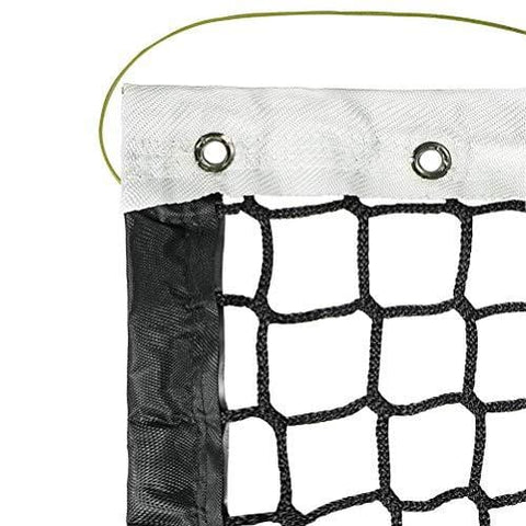 Aoneky 42' Outdoor Replacement Professional Tennis Court Net - 4 mm Polyester Cord