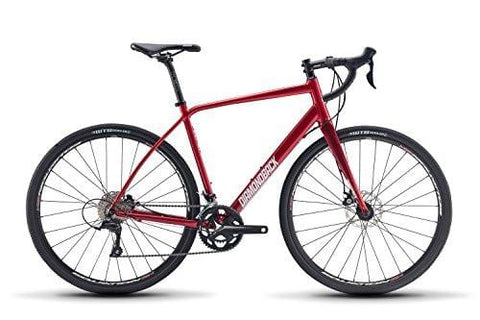 Diamondback Bicycles Haanjo 3 Gravel Adventure Road Bike, 50cm Frame, Red, 50cm/X-Small