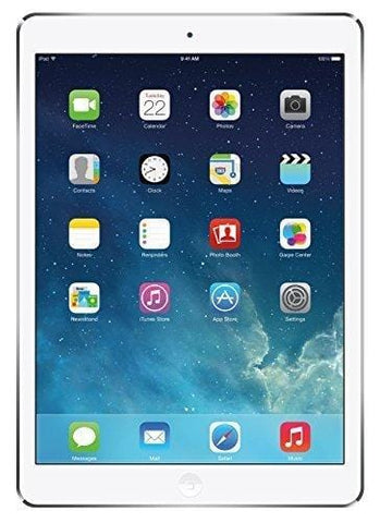 Apple iPad Air 16GB Silver Retina Display Wi-Fi +4G AT&T Tablet(Renewed)