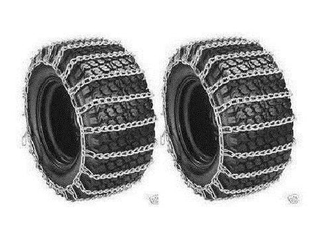 Welironly 2 Link TIRE Chains 13x5-6 13-5-6 13x5.00-6 13 5 6 Tractor Rider Mower Snowblower,#id(theropshop; TRYK35271680112215