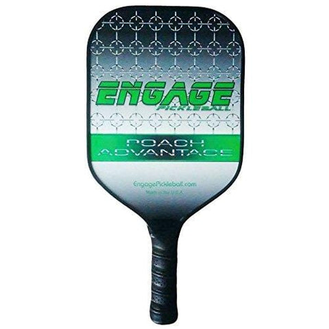 Engage Poach Advantage Pickleball paddle (Green, Strd (8.0 - 8.3 oz)) [product _type] Engage Pickleball - Ultra Pickleball - The Pickleball Paddle MegaStore