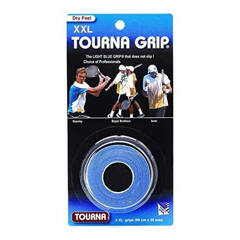 Tourna Grip XXL Original Dry Feel Tennis Grips (3/Roll Pack)