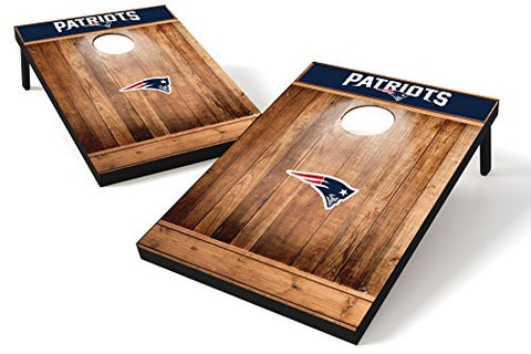 Wild Sports NFL Cornhole Outdoor Game Set, MDF Wood, Brown, 2' x 3' Foot - Recreational Series, 2'x3'